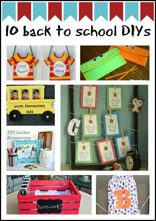 10 back to school DIYs - CraftGossip