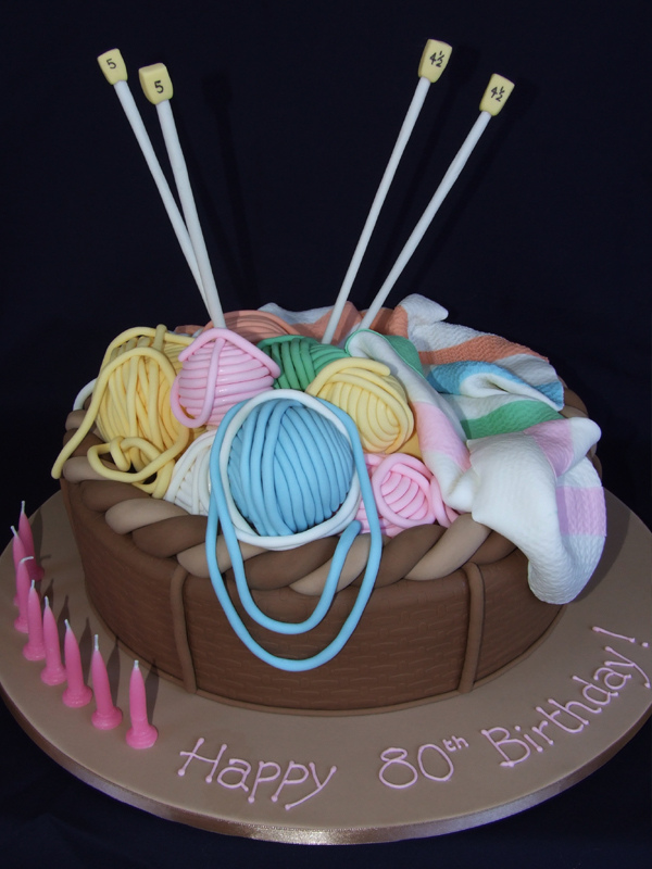 Knitting Cake Ideas
