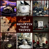 10 elegant Halloween table themes