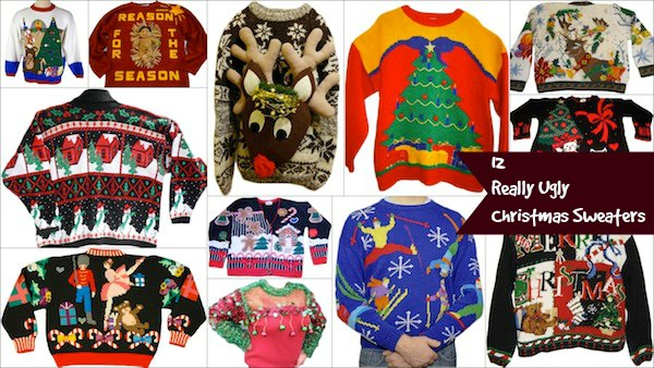 12 Ugly Knitted Christmas Sweaters Craft Gossip