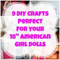 "9 Crafts For Your 18"" American Girl Dolls"