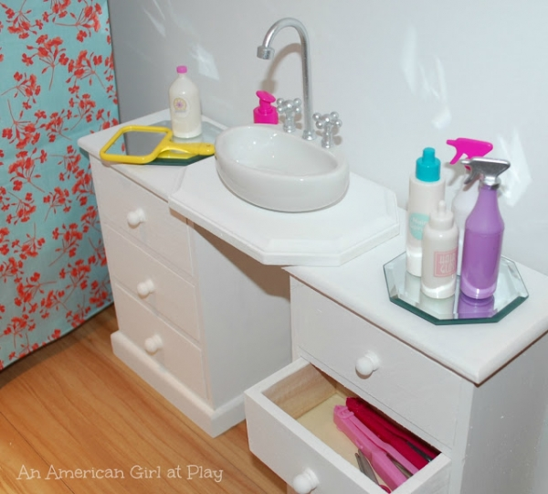 9 crafts for your 18 american girl dolls craft gossip for 18 doll bathroom furniture