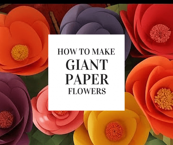 How to make giant paper flowers craft gossip giant paper flowers mightylinksfo