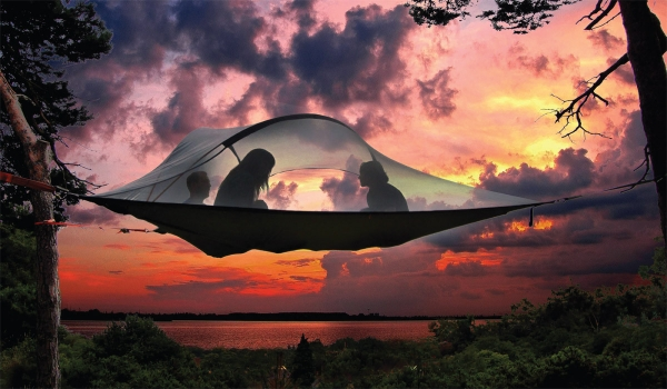 You have never seen camping tents like these
