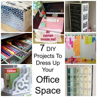 7 DIY Projects To Dress Up Your Office Space
