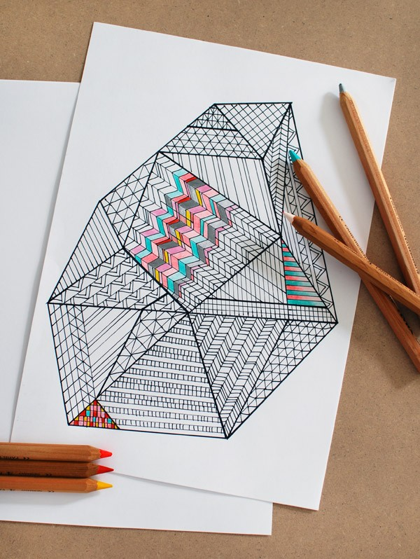 colouring-in-page