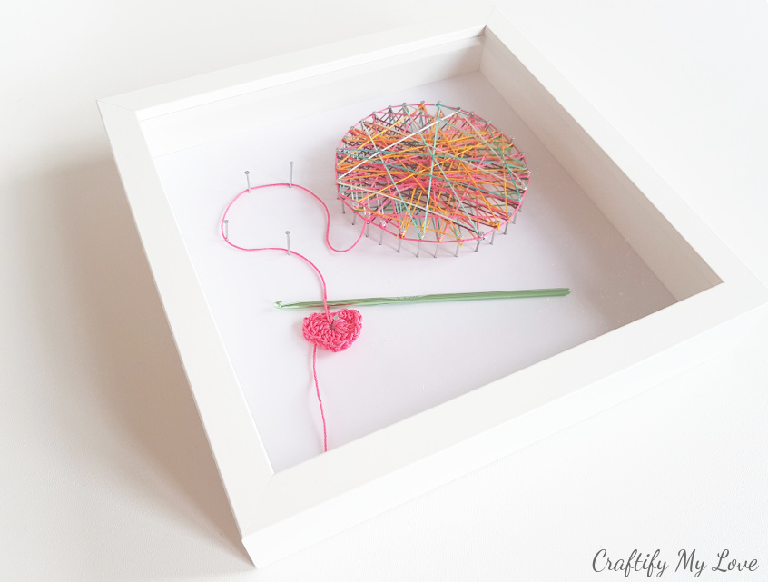 Crocheting Inspired String Art