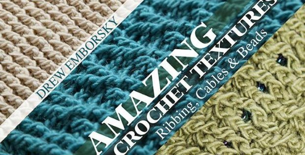 Free video class on crochet texture. 12 different stitches and techniques covered.
