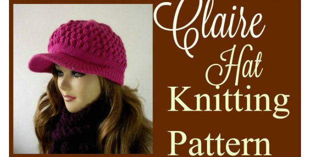Knitting pattern for a newsboy style hat. Uses a knitting stitch that was lost for a long time before being rediscovered.