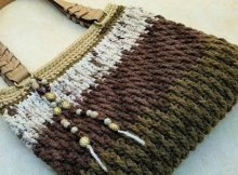 Free crochet purse pattern with step by step video