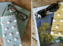 Sunglasses or spectacles case, free crochet pattern to try. Love these quick and satisfying useful crochet patterns. Even better when its free