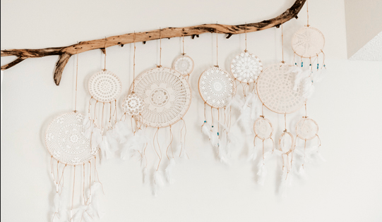 Make A Dream Catcher Beautiful Doilies Pattern