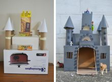 Kids Castle Crafts - Turn A Box Into A Castle