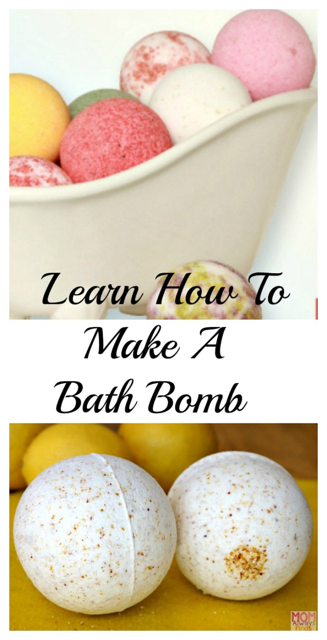 How To Make A Bath Bomb Using Ingredients You'll Have At Home