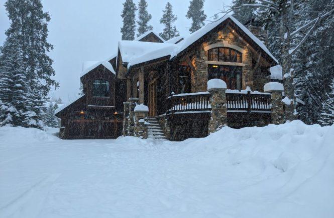 Luxury cabin in Colorado