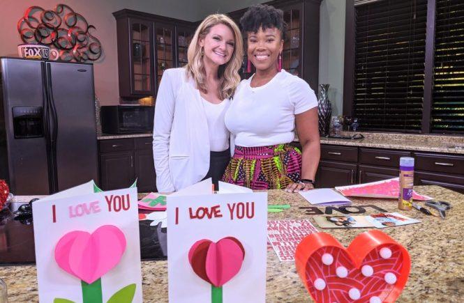 Valentines Day TV segment