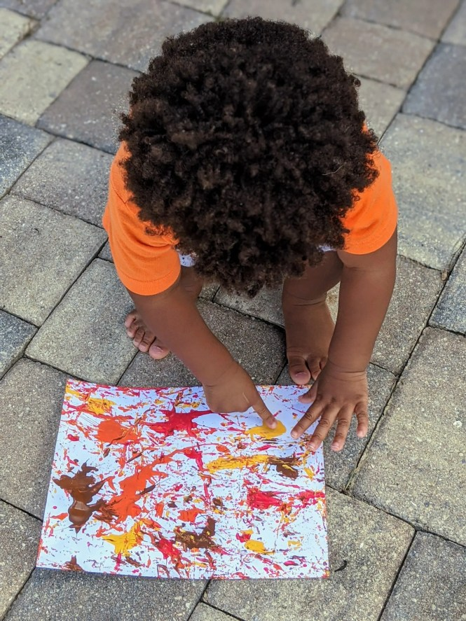 easy fall art project for kids