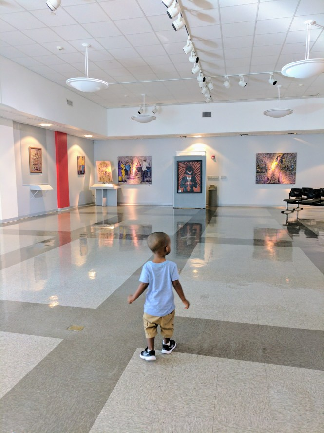 celebrate Black History Month at a local museum