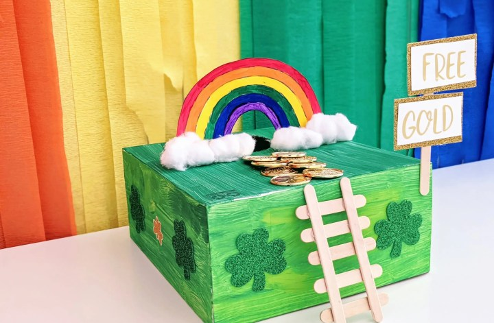 simple leprechaun trap idea for St. Patrick's Day