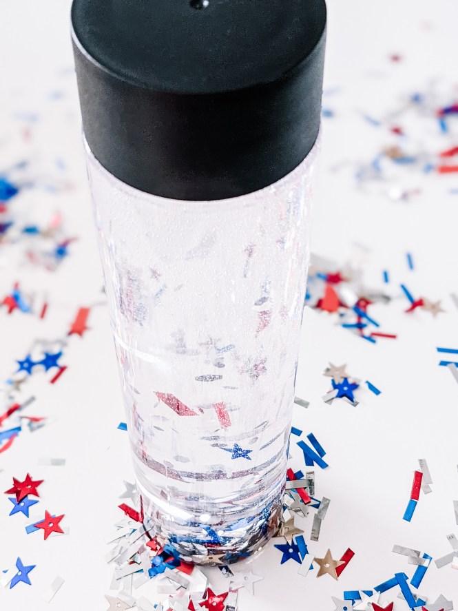 patriotic sensory bottle
