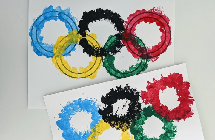 Olympic art project for kids