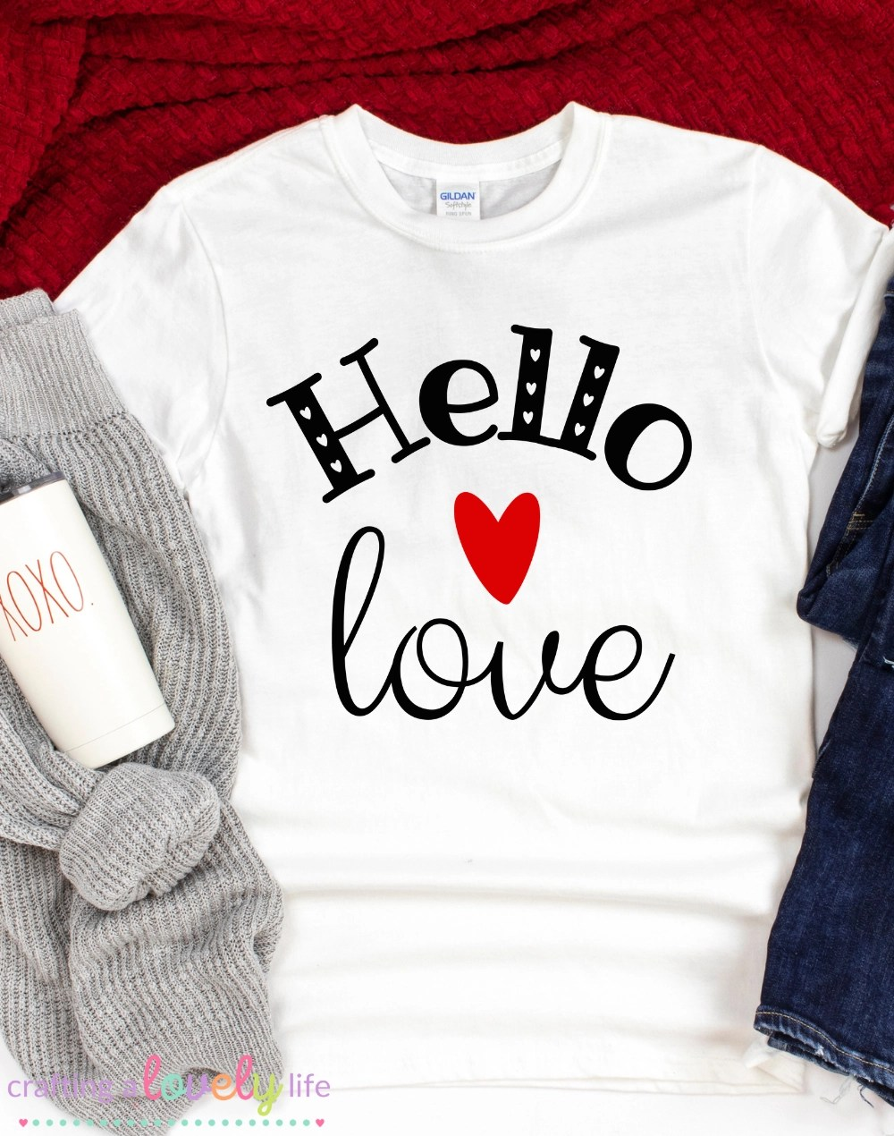 Download Hello Love Free SVG Cut Files - Crafting A Lovely Life