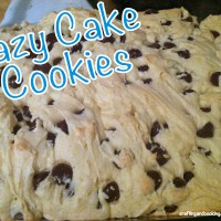 Lazy Cake Cookies