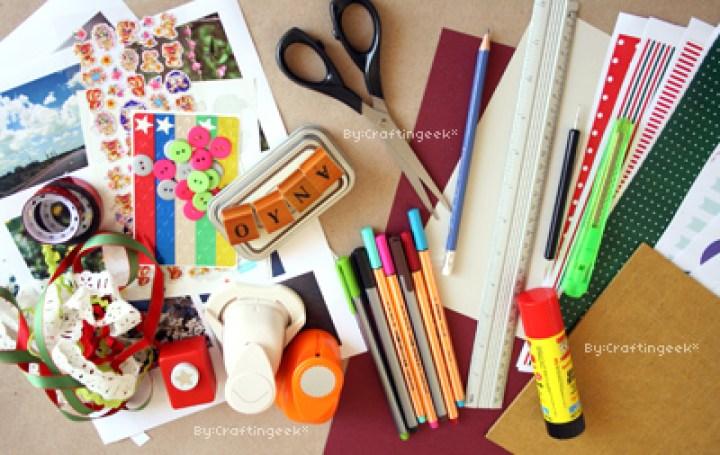 materiales minibook