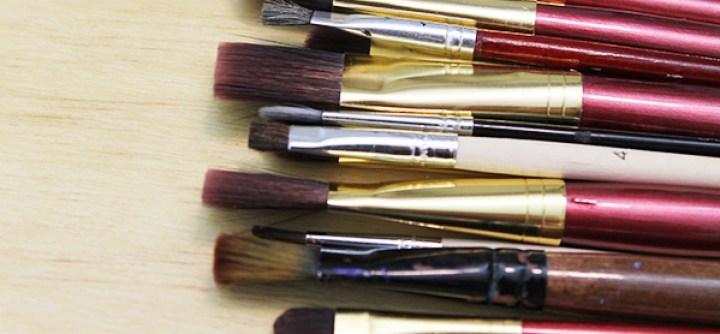 Tipos de pinceles para pintar