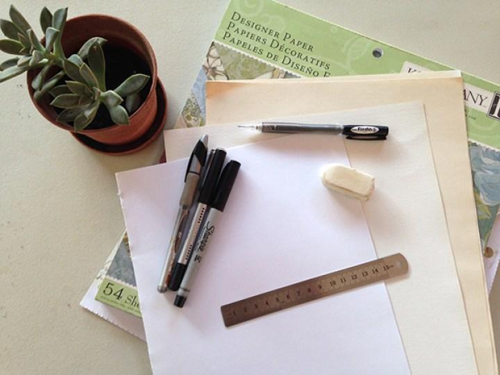 hacer letra cursiva