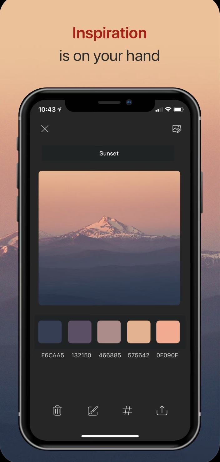 Color collect iOS app