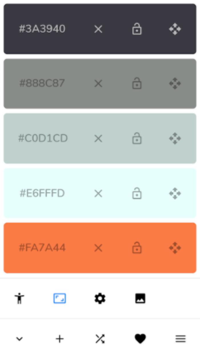 pigment app para combinacion de colores en android
