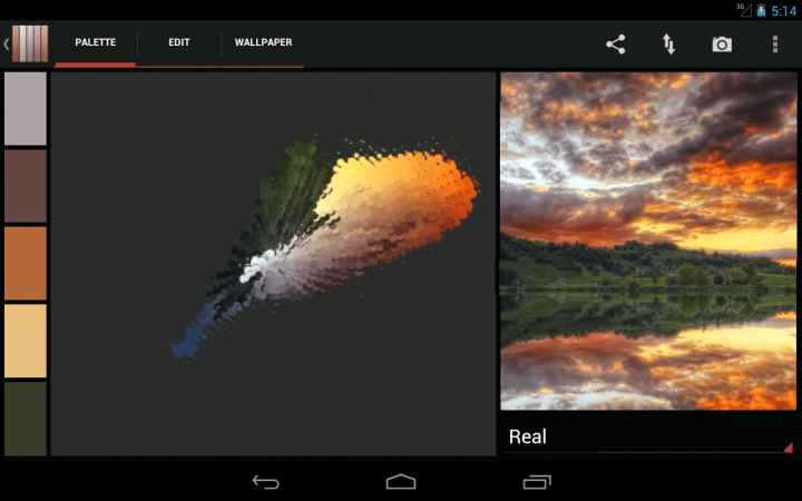 Real colors app