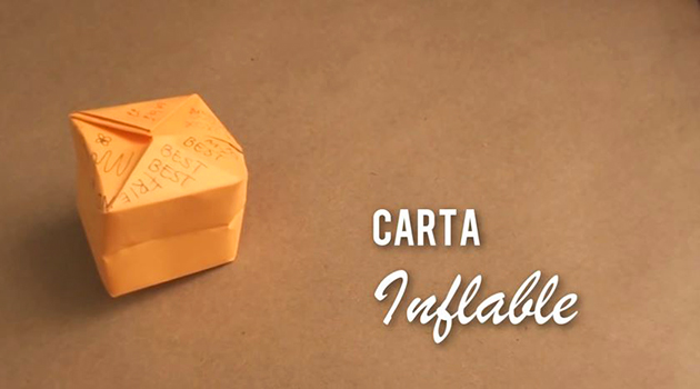 Carta inflable en 2 minutos
