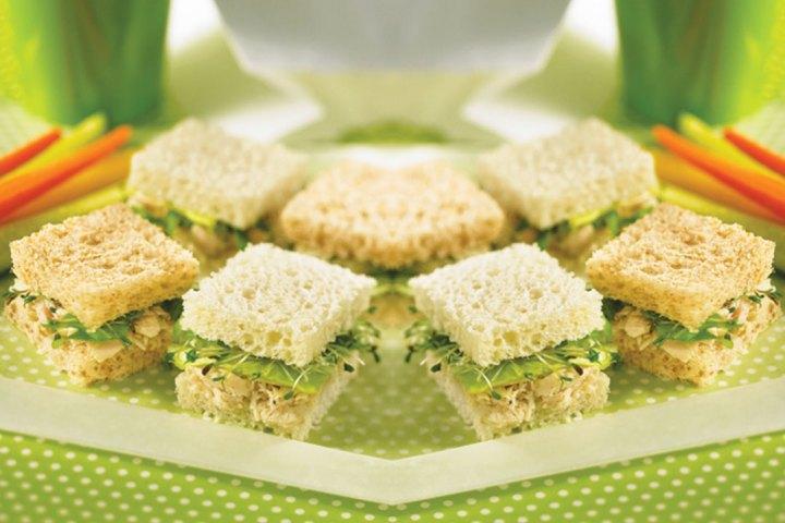 sandwich de atun para la escuela