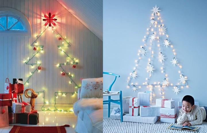 arboles navidad de luces