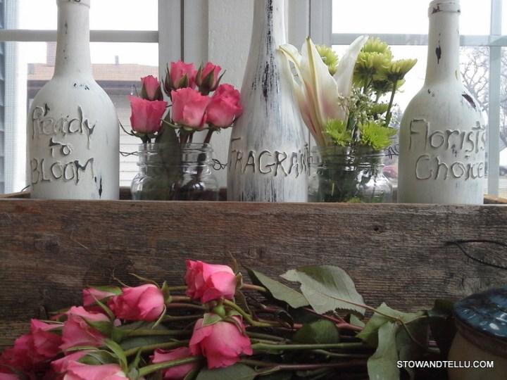 botellas con nombre