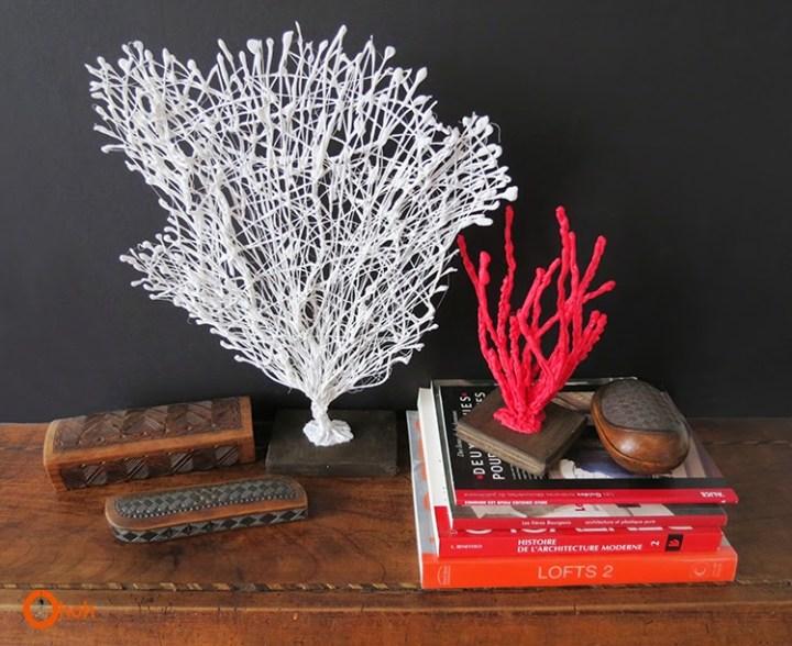 coral decorativo silicon caliente