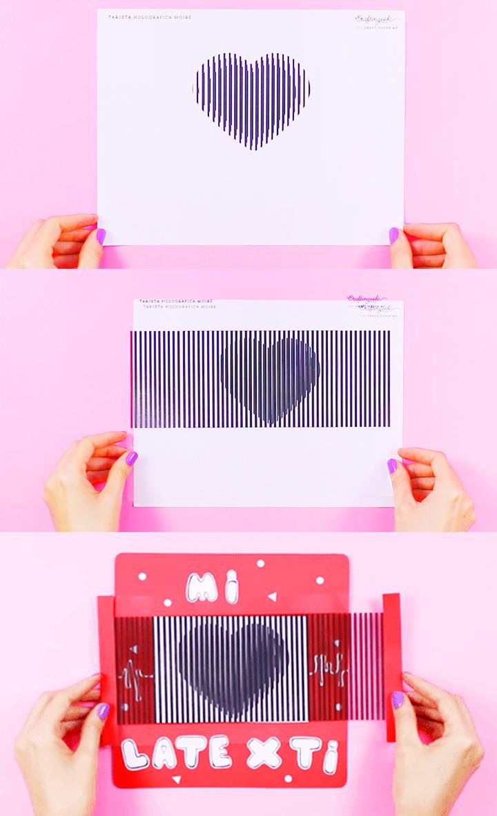 Haz una tarjeta animada de corazón
