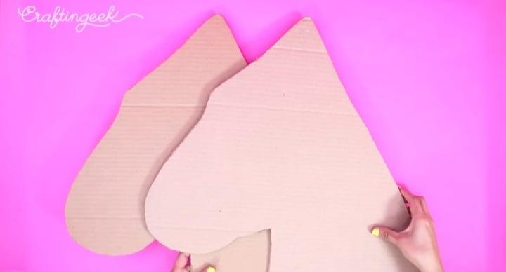 silueta carton