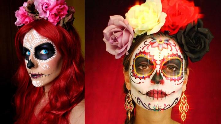 maquillaje creativo catrina