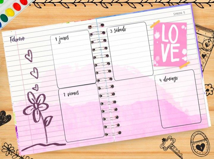 semana crafty planner