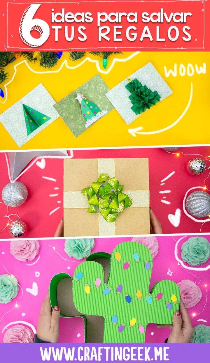 6 ideas de regalos faciles