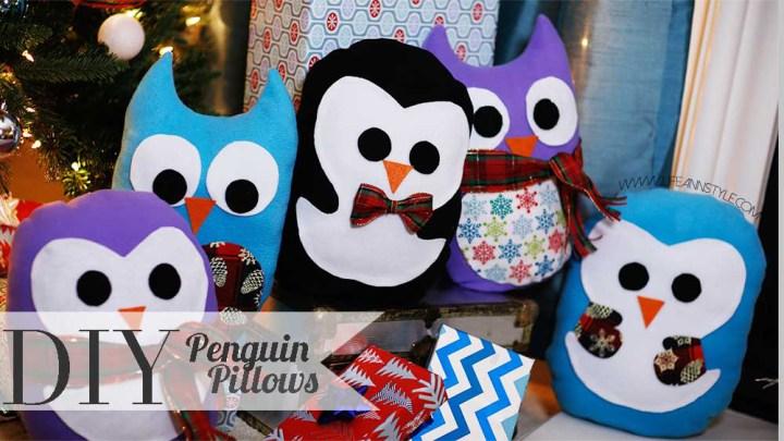 almohada-de-pinguinos