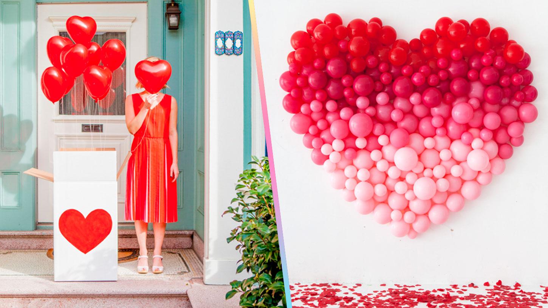 Ideas Para Decorar Con Globos En San Valentn Craftingeek