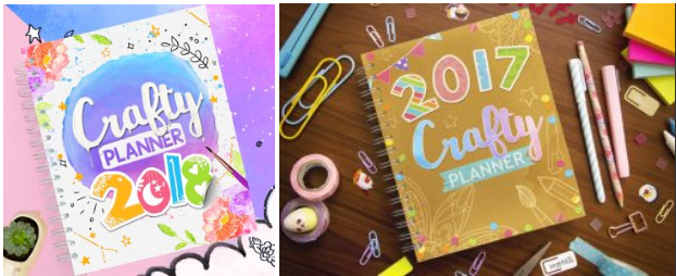 Crafty Planner hecha por Craftingeek