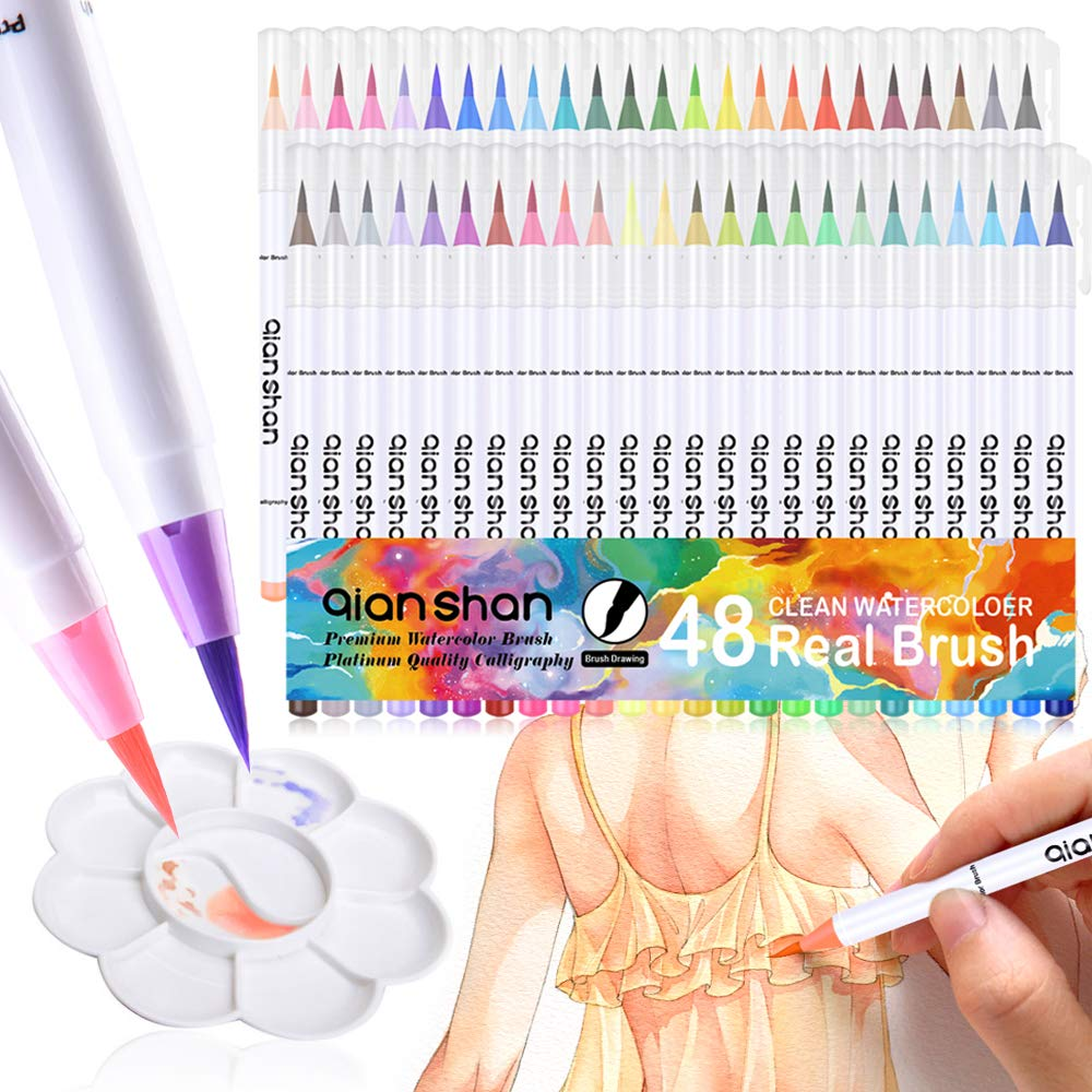 Marcadores de acuarela - Watercolor markers