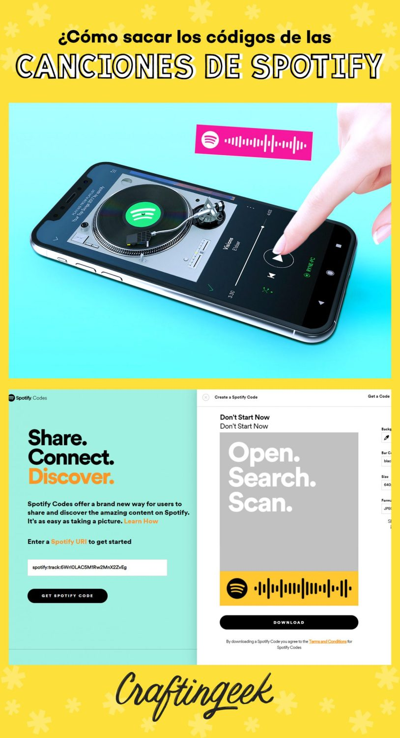 Como sacar los códigos de las canciones de Spotify_Portada