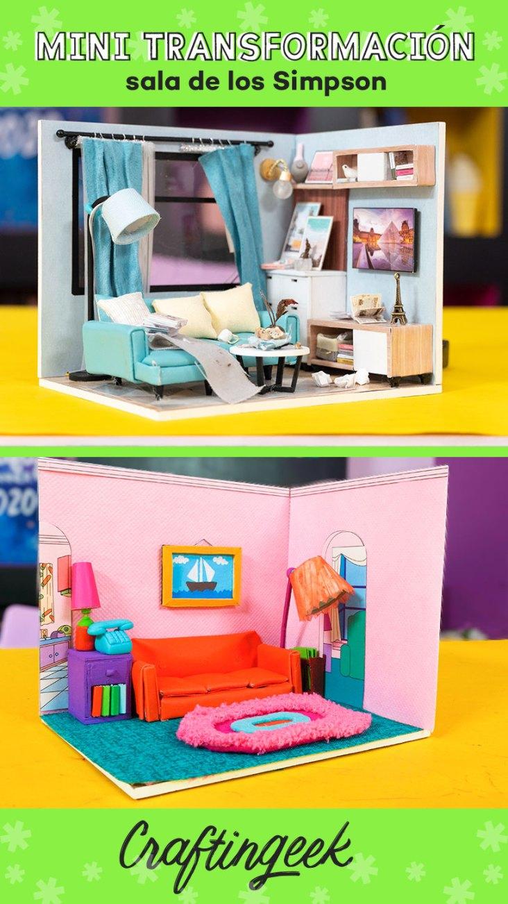 Sala de Los Simpson en miniatura_Portada