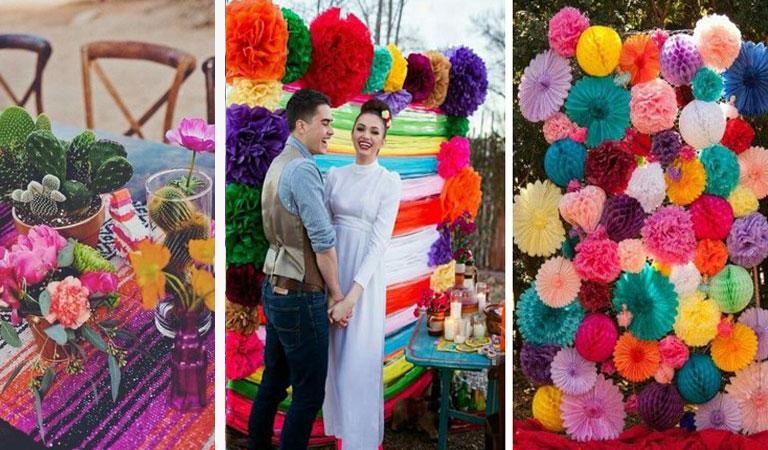 Decoración para bodas: Mexicana